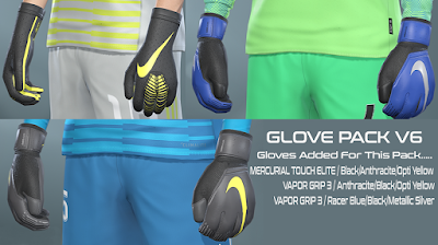 PES 2019 Glovepack Vol 6 by Hawke