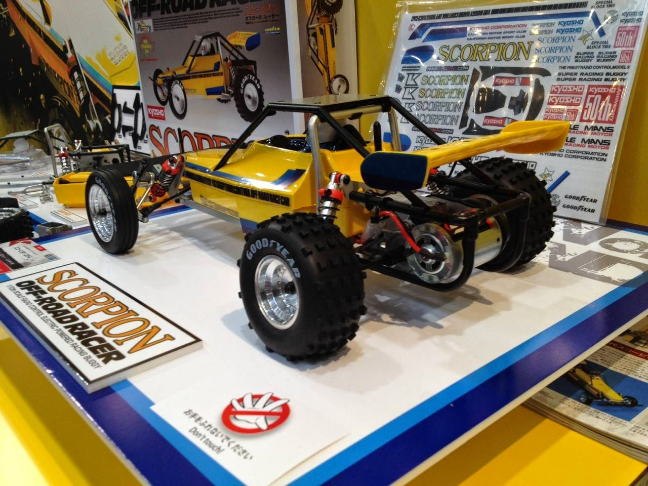 KYOSHOSAN: Pictures from Shizuoka Hobby Show 2014
