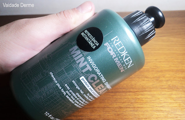 Redken For Men Mint Clean Shampoo Gel Revigorante
