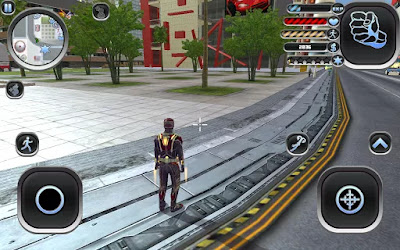 amazing hero man of justice apk