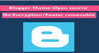 Blogger footer
