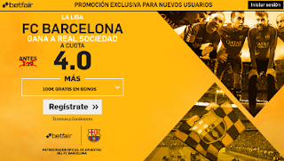betfair supercuota 4 Barcelona gana Real Sociedad Liga 15 abril