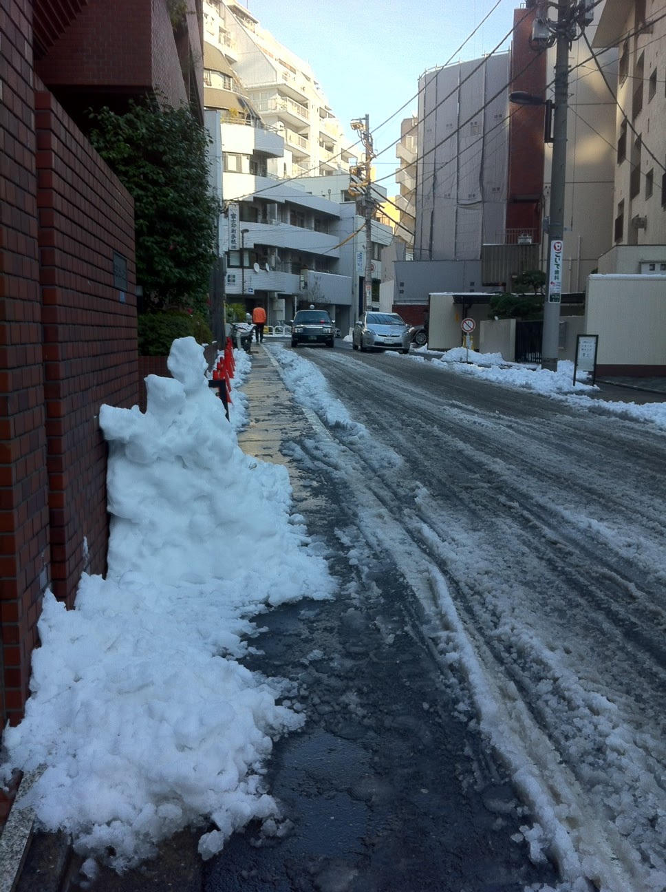 Snow in Tokyo 2013