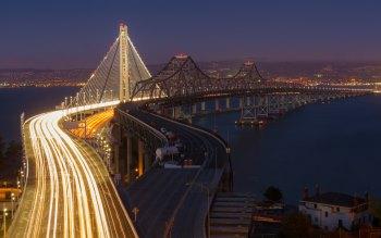 Wallpaper: San Francisco–Oakland Bay Bridge