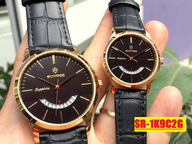 Đồng hồ dây da SR 1K9C2G