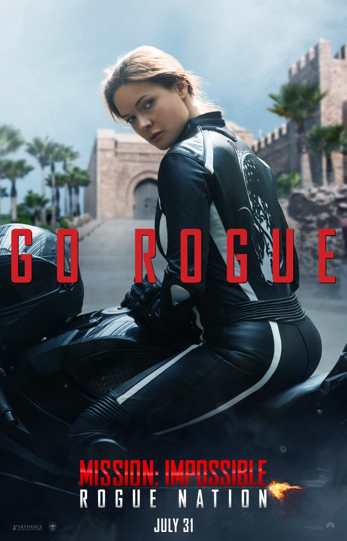Poster 3: Mission Impossible - Rogue Nation