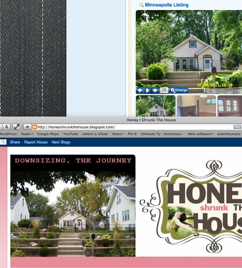 Honey I Shrunk The House: July 2011