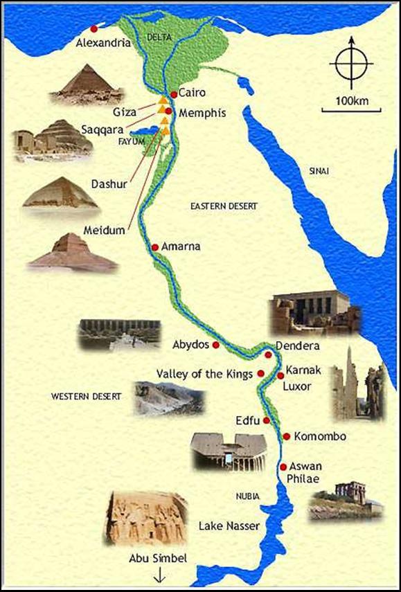 Mapa Del Antiguo Egipto.Historia De Antiguo Egipto Mapa