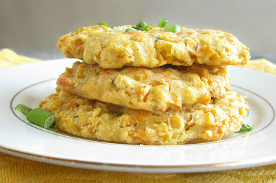 Baked Corn Fritters