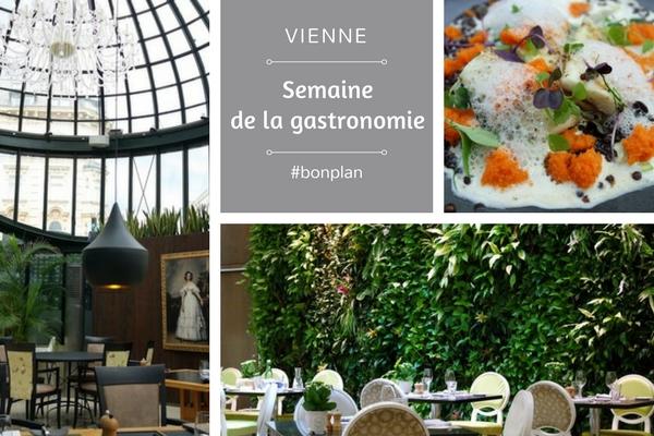 vienne wien wiener restaurantwoche semaine gastronomie