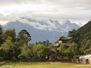 Jade Dragon Snow Mountain from Lijiang
