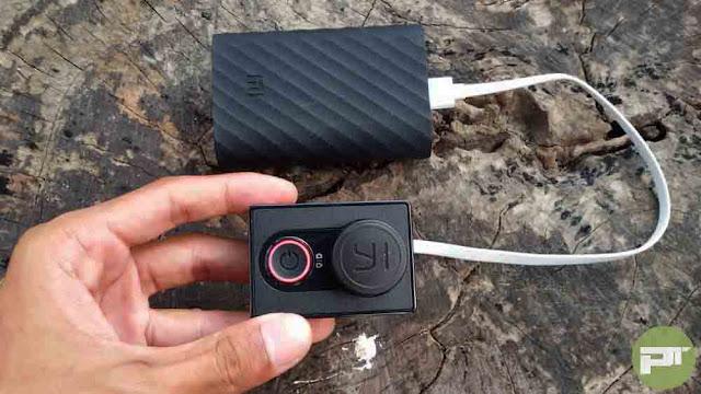Menggunakan Yi Cam Dengan Power Bank Tanpa Baterai