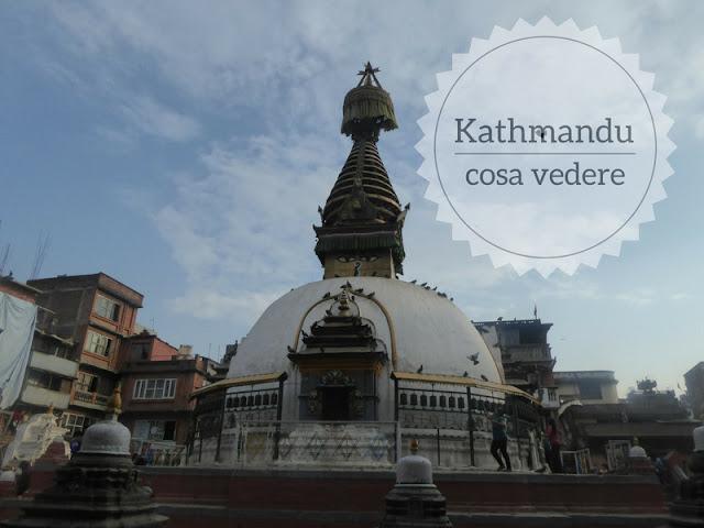Cosa vedere nel centro storico di Kathmandu. tempio di Kaathe Swyambhu