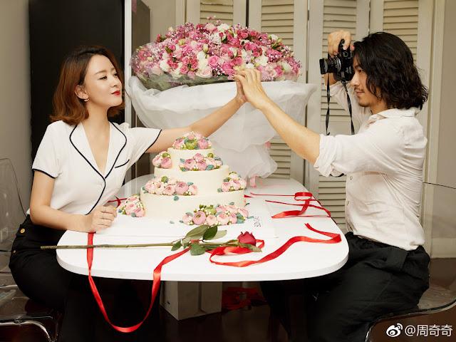 Zhou Qiqi Jiang Qilin namoro
