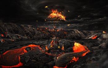 Wallpaper: Burning Embers