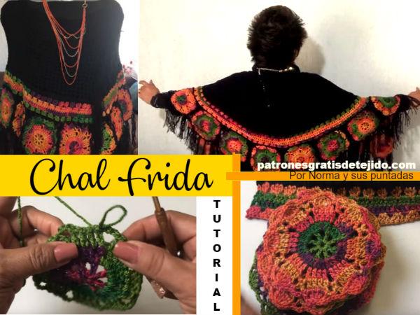 patrón-y-explicaciones-de-chal-Frida-crochet
