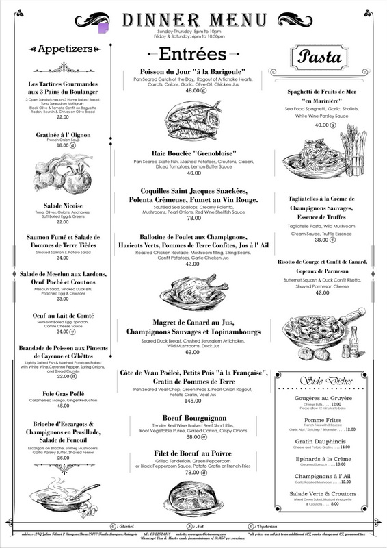 Authentic French Foods List