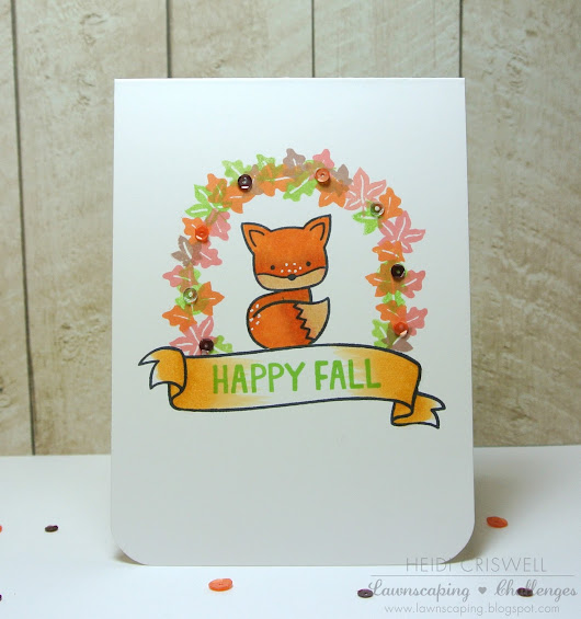 One Layer Fall and Christmas Cards