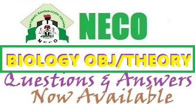 2017 NECO Biology Questions and Answers | Objectives & Theory Expo/Runz
