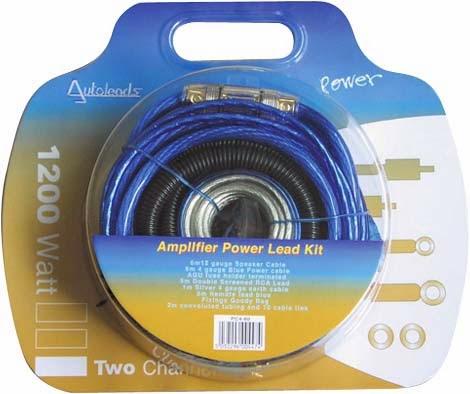 4 gauge Autoleads 1200W wiring kit
