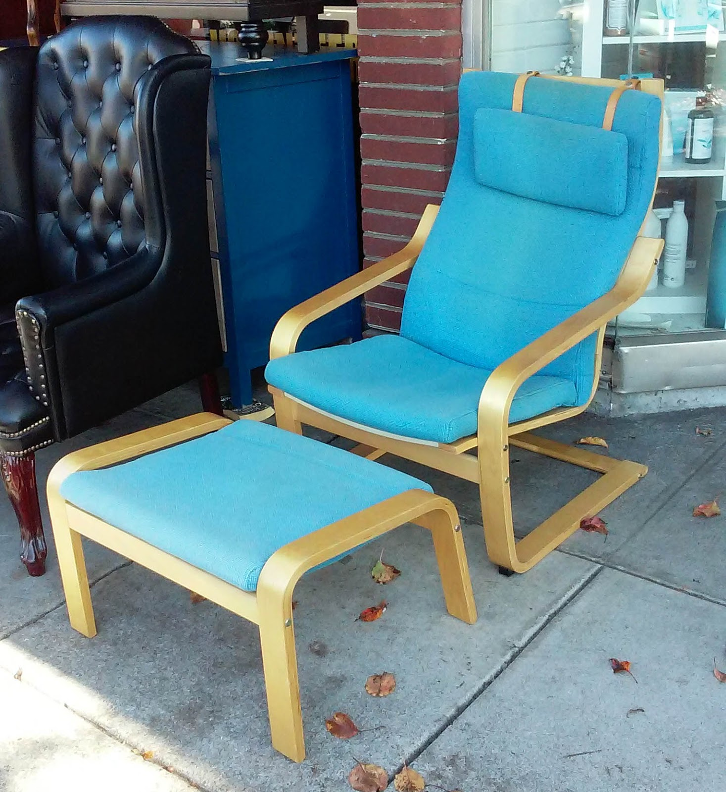 Ikea Recliner Chairs Sale Slide Under Chair Tray Table Uhuru Furniture And Collectibles Sold Poang