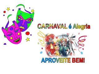 Carnaval é alegria