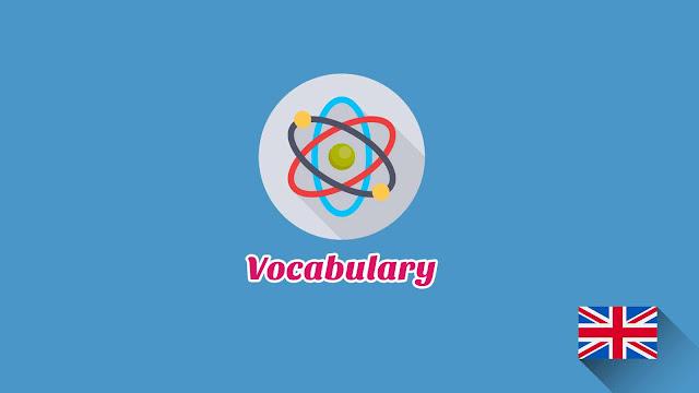 Kosakata Bahasa Inggris Istilah Fisika Disertai Gambar, Audio Dan Pronunciation