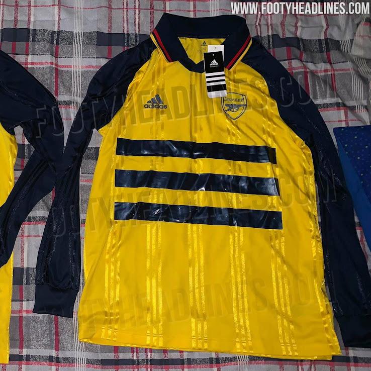 best website 45d71 db7b3 Adidas Arsenal 19-20 Icon Retro Jersey Released + Prototype ...