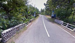 Batas Desa Hadiwarno - Desa Pager Kidul Kecamatan Sudimoro