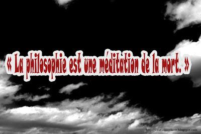 Citation de philosophe
