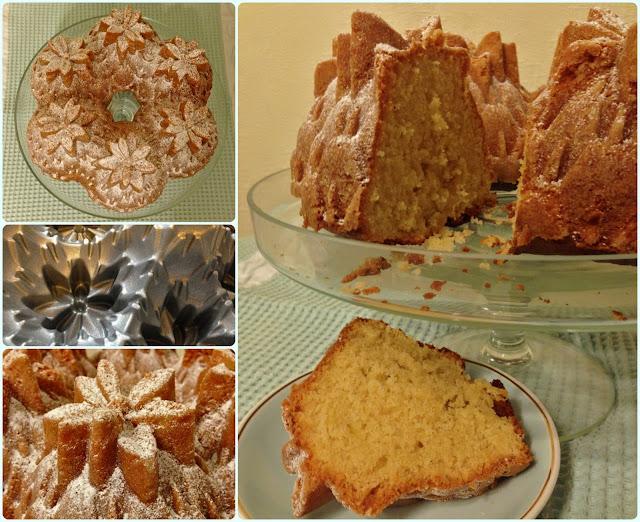 Pineapple Bundt Cake With Vanilla Pudding