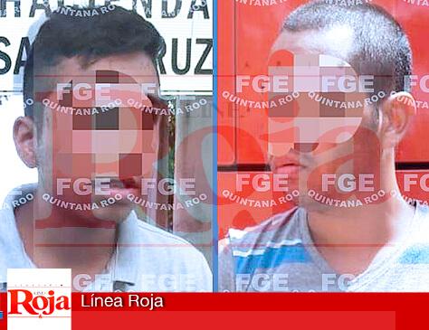 Detienen en Mérida a los 2 jóvenes sospechosos de asesinar a su madrastra en la colonia Misión de las Flores de Playa del Carmen