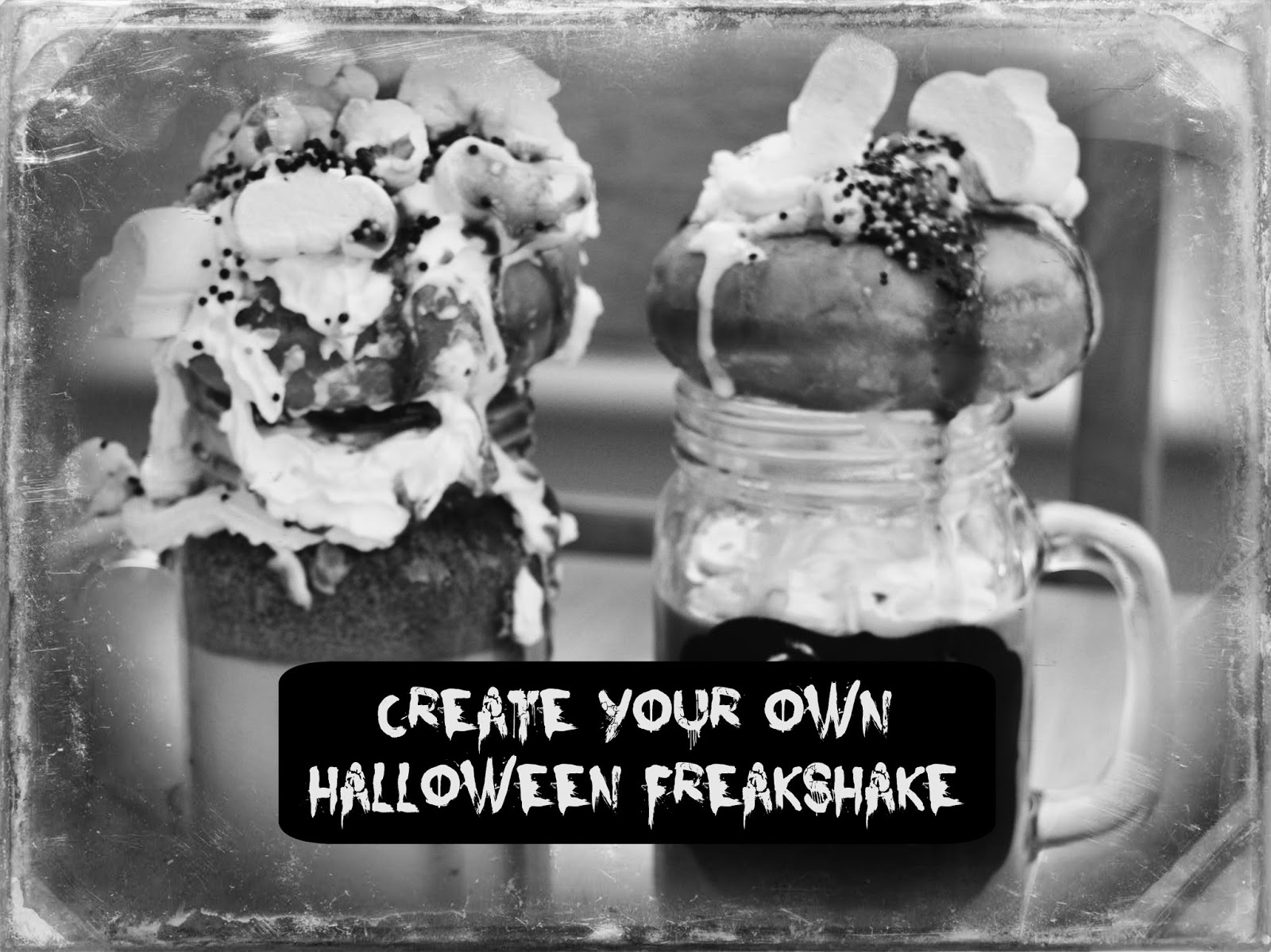 Create Your Own Halloween Freakshake Recipe