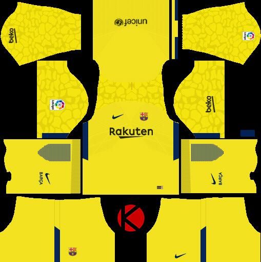 buy popular f1580 72bdf Barcelona Nike Kits 2017/2018 - Dream League Soccer - Kuchalana