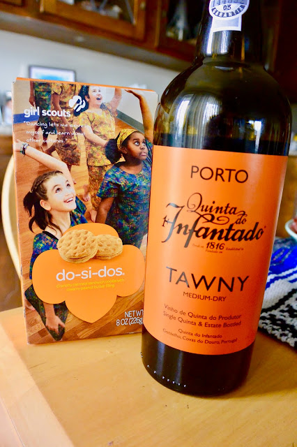 Do-Si-Do's with Quinta Do Infatado Medium-Dry Tawny Port.