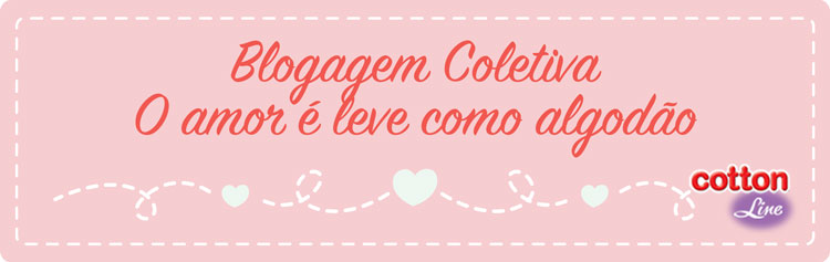 O Amor é leve como algodão e o melhor algodão é o da Cotton Line =)