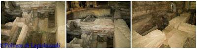 Testimonianze archeologiche nell'antica basilica occidentale di Cimitile