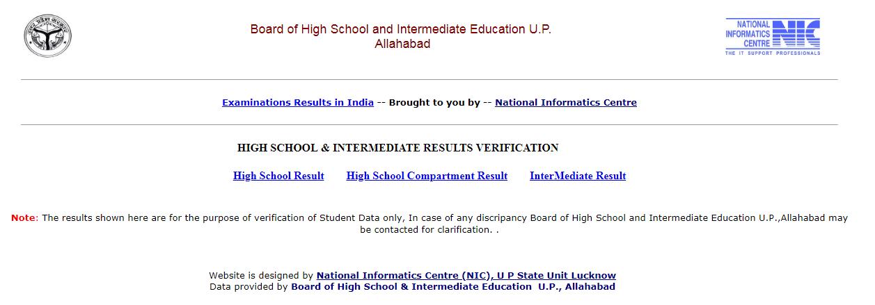 UP Inter Class 12th Results 2019 | UP Board Class 12th (Intermediate