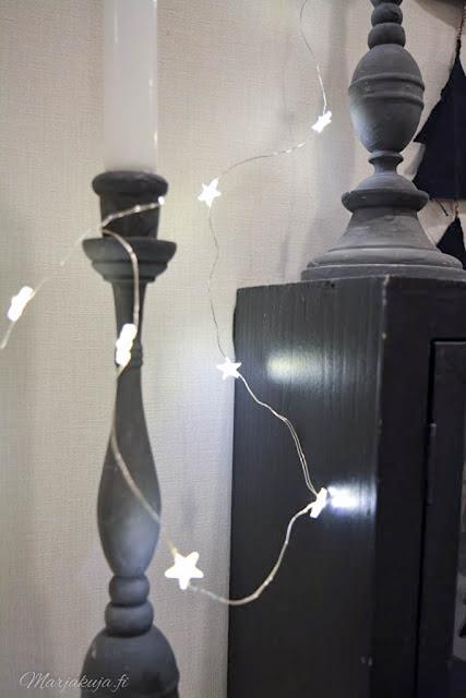 kynttilänjalka skandinaavinen joulu