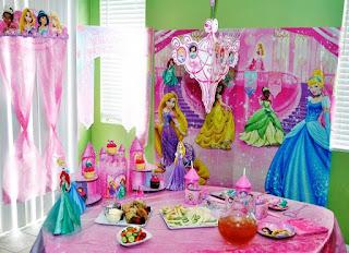 Dekorasi Ulang Tahun Anak Perempuan Tema Princess 5
