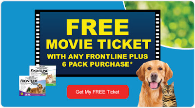 FREE Movie Ticket with Frontline Plus