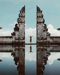 lempuyangan temple, bali, indonesia