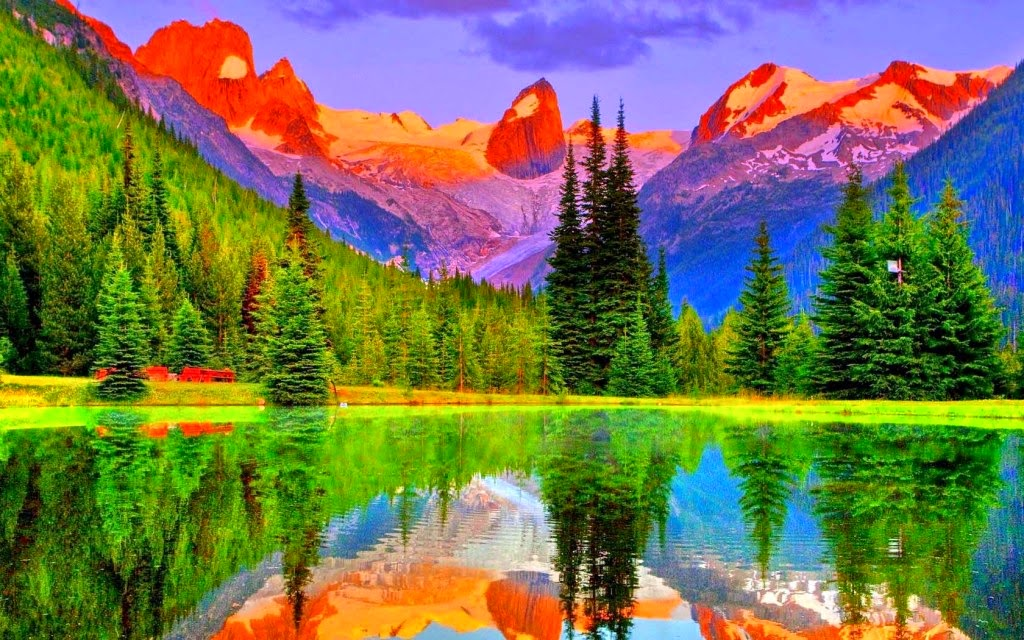 Colorful Mountains hd wallpapers | HD Wallpapers ...
