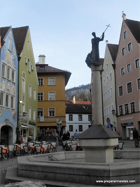 Füssen uno de los pueblos más bonitos de Baviera