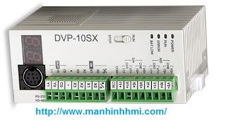 Bộ điều khiển lập trình PLC Delta DVP10SX11R tích hợp tín hiệu analog vào ra
