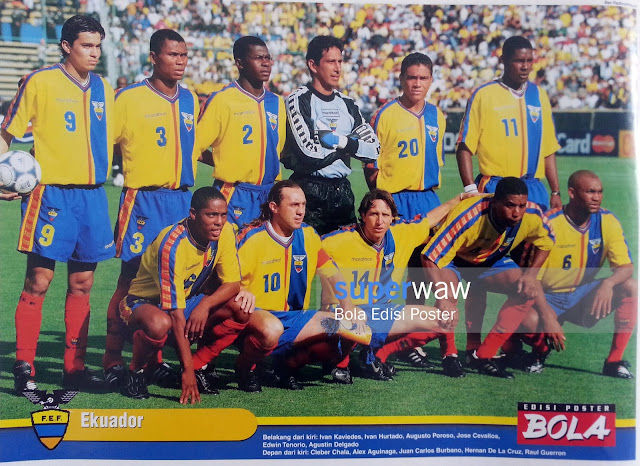 Poster Tim Ekuador