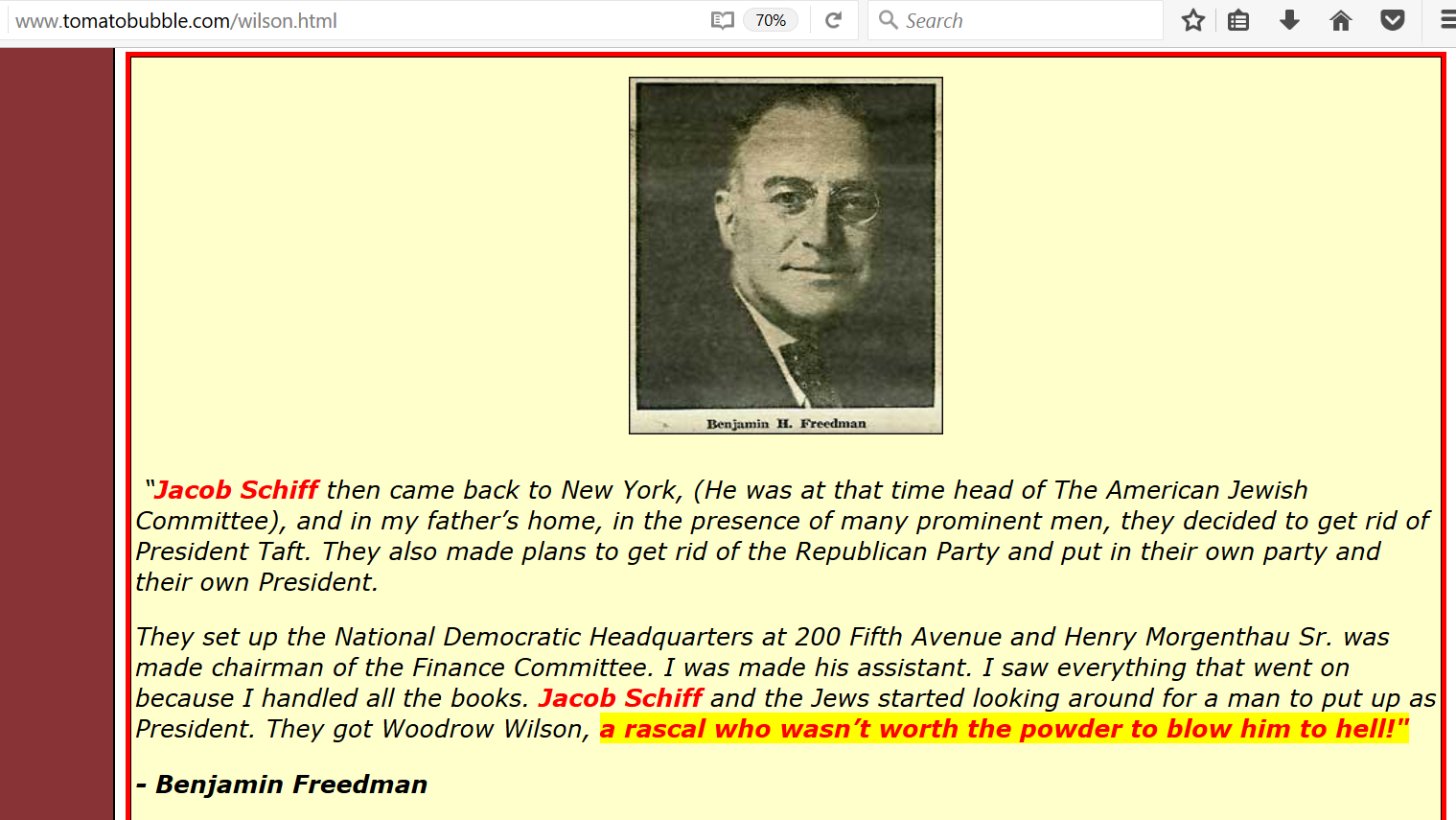 Jacob schiff genocidal judeo supremacist jew billionaire chief american lieutenant of the euro jew rotschilds world ruling financial dynasty had the