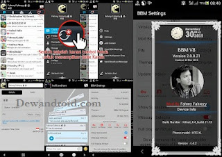BBM Mod update Tema v8 Versi 2.8.0.21 Smooth + New Feature
