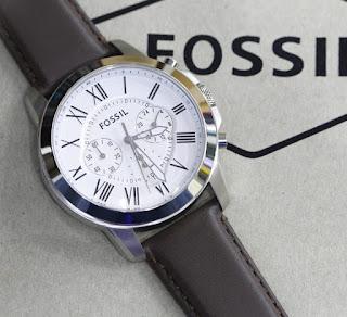 Jam Tangan Fossil Pria Tali kulit