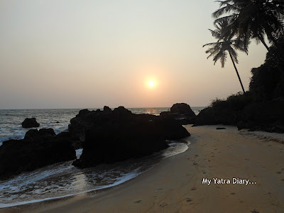 Sunset in Kannur homestay, Kerala